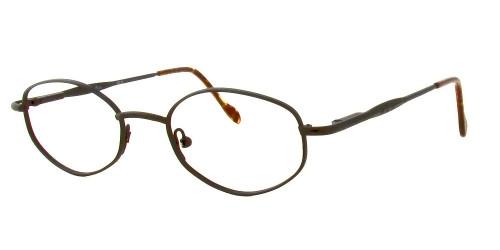 Reptile Designer Eyeglasses Boa in Matte Black :: Rx Single Vision