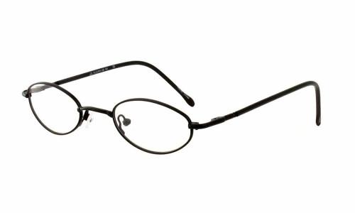 Calabria FlexPlus 92 Black Eyeglasses :: Rx Single Vision
