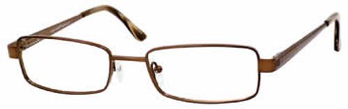 Marc Hunter 7412 in Dark Brown Designer Eyeglasses :: Rx Single Vision