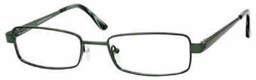 Marc Hunter 7412 in Dark Green Designer Eyeglasses :: Rx Single Vision