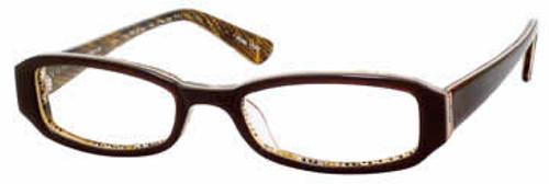 Seventeen 5322 in Brown Designer Eyeglasses :: Rx Single Vision