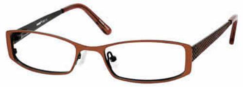 Seventeen 5325 in Brown Designer Eyeglasses :: Rx Single Vision