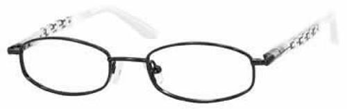 Seventeen 5331 in Black Designer Eyeglasses :: Rx Single Vision