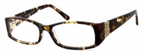 Valerie Spencer 9237 in Tortoise Designer Eyeglasses :: Rx Single Vision