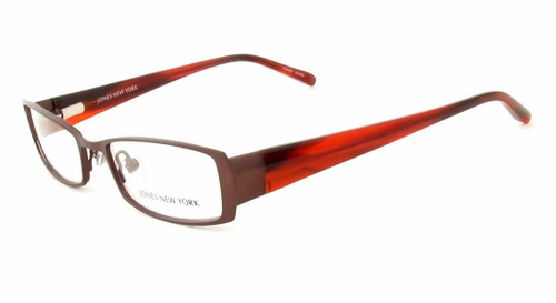 ef7ae9333f Jones New York Designer Eyeglasses J446 Wine    Rx Single Vision ...