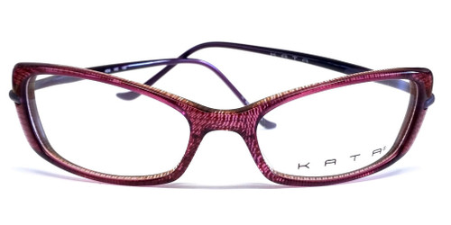 Kata Designer Eyeglasses KD6-VlO in Purple :: Rx Single Vision