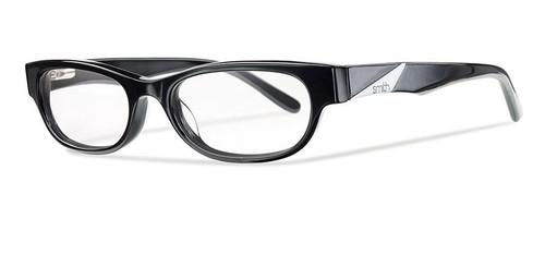 Smith Optics Designer Optical Eyewear Accolade in Black :: Rx Single Vision