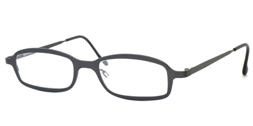 Harry Lary's French Optical Eyewear Bill Eyeglasses in Gunmetal (329) :: Rx Single Vision