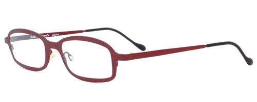 Harry Lary's French Optical Eyewear Bill Eyeglasses in Wine (055) :: Rx Single Vision