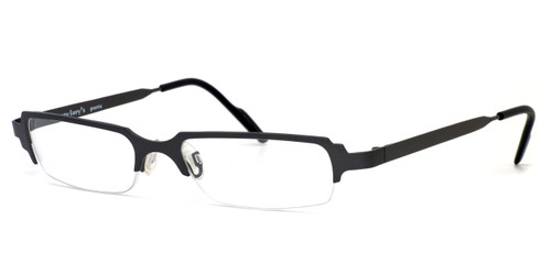 Harry Lary's French Optical Eyewear Clubby Eyeglasses in Gunmetal (329) :: Rx Single Vision