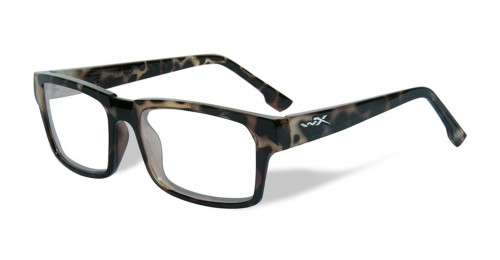 Wiley-X Profile Optical Eyeglass Collection in Gloss-Demi-Green (WSPRF05) :: Rx Single Vision