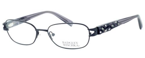 Badgley Mischka Marielle Designer Eyeglasses in Black :: Rx Single Vision