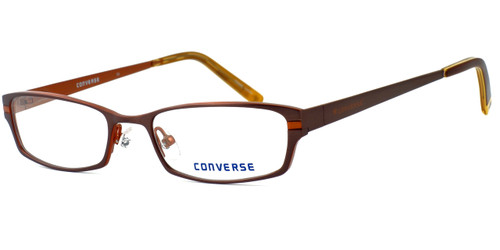 Converse Grab Designer Eyeglasses in Dark Brown :: Rx Single Vision