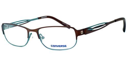 Converse Spray Paint Designer Eyeglasses in Brown/Green :: Rx Single Vision