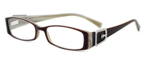 Calabria Designer Eyeglasses 814 Nutmeg :: Rx Single Vision
