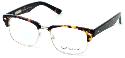 Ernest Hemingway Eyeglass Collection 4629 in Gloss Tortoise & Gold :: Rx Single Vision