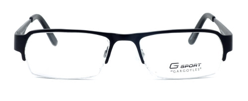 Gargoyles Designer Eyeglasses Eliminator in Black :: Rx Single Vision