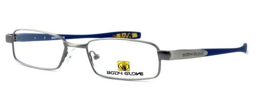 Body Glove BB122 Designer Eyeglasses in Pewter :: Rx Single Vision