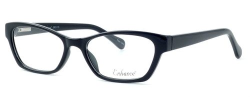Enhance Optical Designer Eyeglasses 3903 in Black :: Rx Single Vision