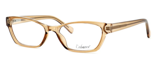 Enhance Optical Designer Eyeglasses 3903 in Brown :: Rx Single Vision