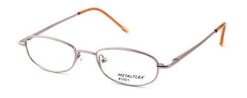 Calabria Kids Fit MetalFlex Designer Eyeglasses 1001 in Pink :: Rx Single Vision