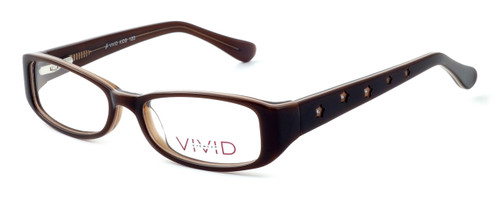 Calabria Optical Viv Kids Designer Eyeglasses 120 in Brown :: Rx Single Vision