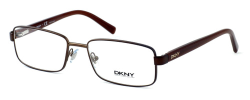 DKNY Donna Karan New York Designer Optical Eyeglasses DY5638-1169 in Matte Brown :: Rx Single Vision