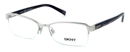DKNY Donna Karan New York Designer Optical Eyeglasses DY5639-1029 in Matte Silver :: Rx Single Vision