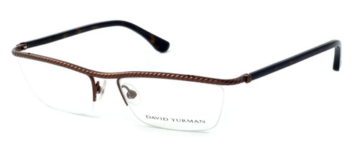 David Yurman Designer Eyeglasses DY043 in Brown (02) :: Rx Single Vision