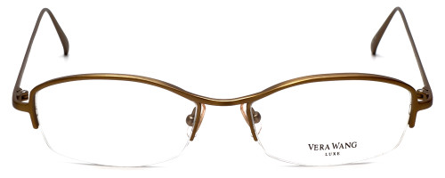 Vera Wang Designer Reading Glasses Catherine 2 in Gold-Bronze