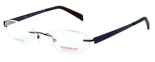 Totally Rimless Designer Eyeglasses TR163-CBT in Gunmetal :: Rx Single Vision