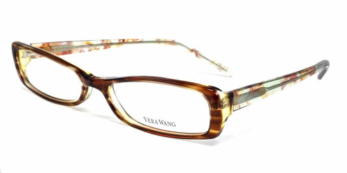 Vera Wang Designer Reading Glasses V050 in Tabac