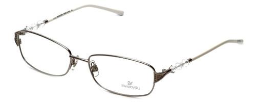 Swarovski Designer Eyeglasses Alix SK5008-016 in Silver :: Rx Single Vision
