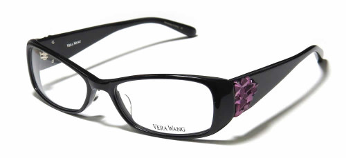 Vera Wang Designer Reading Glasses V076 in Black