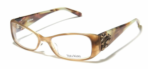 Vera Wang Designer Reading Glasses V076 in Brown