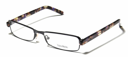 Vera Wang Designer Reading Glasses V085 in Black 54mm