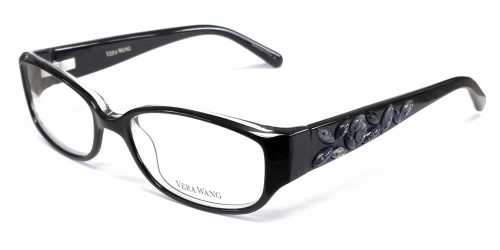 Vera Wang Designer Reading Glasses V088 in Black