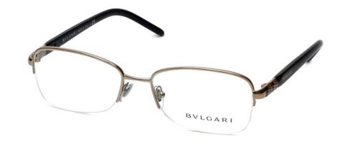 Bvlgari Designer Eyeglasses 2178-266 in Gold-Tortoise 54mm :: Rx Single Vision