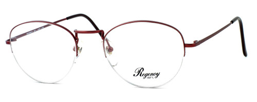 Regency International Designer Eyeglasses Lady in Lite Burgundy 54mm :: Rx Single Vision