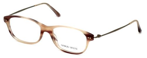 Giorgio Armani Designer Eyeglasses AR7007-5021 52mm in Striped-Pink :: Rx Single Vision
