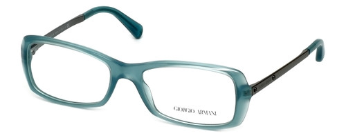 Giorgio Armani Designer Eyeglasses AR7011-5034 51mm in Green Water Opal :: Rx Single Vision