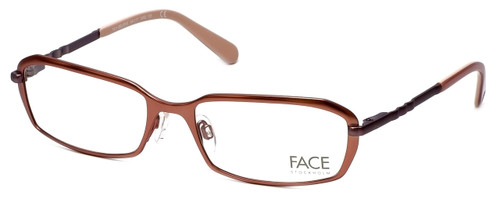 FACE Stockholm Believe 1311-5402 Designer Eyeglasses in Light Copper :: Rx Single Vision