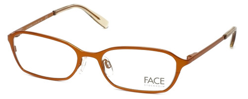 FACE Stockholm Karma 1314-5411 Designer Eyeglasses in Orange :: Rx Single Vision