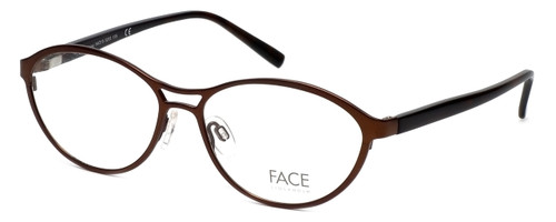 FACE Stockholm Smashing 1348-5203 Designer Eyeglasses in Brown :: Rx Single Vision