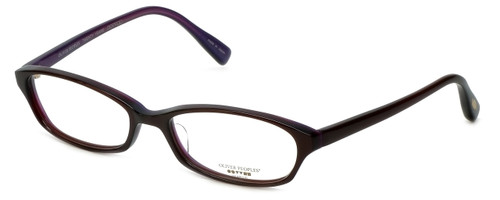 Oliver Peoples Designer Eyeglasses Cady Miam in Brown 50mm :: Rx Single Vision