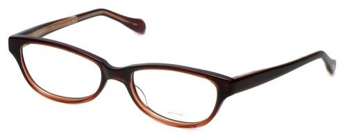 Oliver Peoples Designer Eyeglasses Devereaux GARGR in Mahogany 50mm :: Rx Single Vision