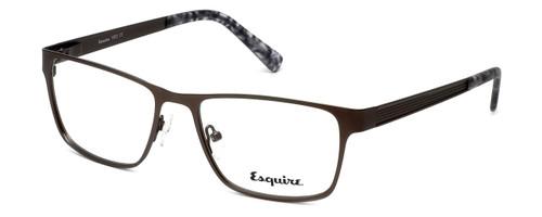 Esquire Designer Eyeglasses EQ1502 in Satin-Pewter 54mm :: Rx Single Vision