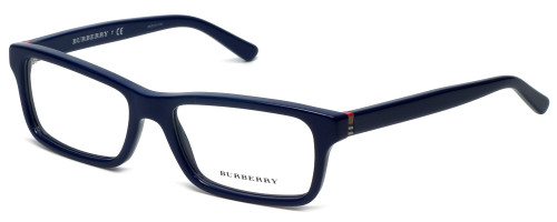 Burberry Designer Eyeglasses B2187-3514 in Blue 53mm :: Rx Single Vision