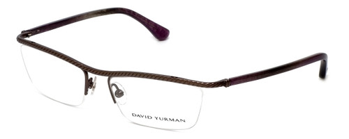 David Yurman Designer Eyeglasses DY043-00 in Gunmetal 53mm :: Rx Single Vision