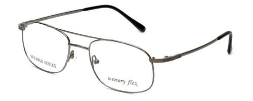 Silver Dollar Designer Eyeglasses Abbott in Gunmetal 54mm :: Rx Single Vision